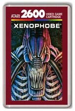 XENOPHOBE ATARI 2600 FRIDGE MAGNET IMAN NEVERA