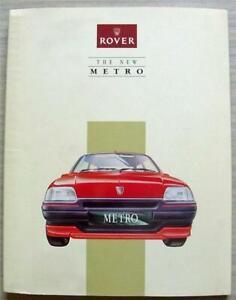 ROVER METRO Car Press Media Information Pack Brochure May 1990 GTa 1.4GTi 16v ++