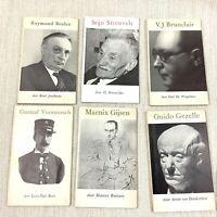 1950 Vintage Belgian Libri Dutch Letteratura Raymond Brulez Brunclair Vermeersch