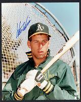 Walt Weiss signed autograph auto 8x10 Oakland Athletics Baseball Photo