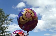 Disney TIGGER pooh CONGRATULATIONS  Tiggerific Job! mylar BALLOON Lot 10 pc rare