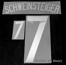 Germany Schweinsteiger 7 world cup 2014 Football Shirt Name Set Away Sporting ID