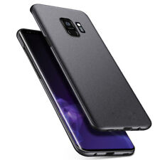 For Samsung Galaxy S8 S9 Plus Note 8 Slim Sandstone Hard Shell Back Cover Case