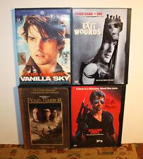 4 x Dvd Lot, Bundle: Exit Wounds, Vanilla Sky, Pearl Harbor, Cobra