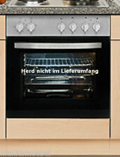 Herdumbauschrank MANKAPORTABLE Buche mit Arbeitsplatte 60 cm Küche Unterschrank