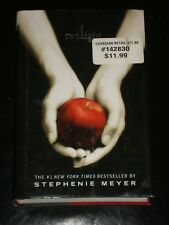 TWILIGHT 1 :The Twilight Saga by Stephenie Meyer (2005, Hardcover) NOVEL MOVIE