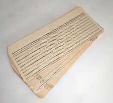 10 pcs Vintage Computer Hollerith IBM Punch Card - NEW old Stock NOS