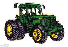 "2"" JOHN DEER TRACTOR FARM CHARACTER NOVELTY  FABRIC APPLIQUE IRON ON"