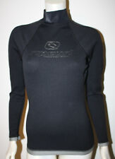 RIP CURL Black Titanium Neoprine 0.5mm Hotskin LS Top Ski Scuba Water Sport