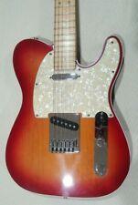 2006 Fender American Deluxe Telecaster Case Strap Locks Case Candy Cherry Burst