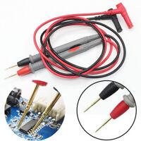 1000V 20A Needle Point Multi Meter Probe/Lead Test For Digital Multimeter Fluke