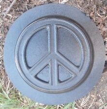 Peace stepping stone mold concrete plaster mould
