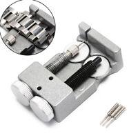 double clasp metal steel watch bracelet adjustment watchband link pin remover Vh