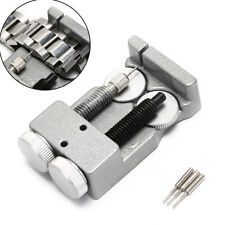 Double clasp metal steel watch bracelet adjustment watchband link pin removerL&U