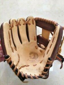 "Nokona Adult Baseball Glove Alpha Series S-1150I /R 11.5"" Infield I-Web LHT NWT"