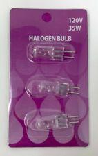 Halogen Bulb 3pc Set (For Electric Oil Warmers) 35 Watt (2) Pins