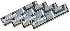 4x 4GB 16GB RAM Fujitsu Primergy RX300 S4 D2519 - 667 Mhz DDR2 Fully Buffered