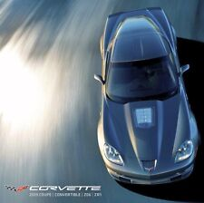 2009 CONVERTIBLE CORVETTE LS3 - DEALER BOOK BROCHURE - C6 Z51 CHEVROLET: NEW SET