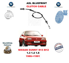 FOR NISSAN SUNNY N13 B12 1.3 1.4 1.6 1986-1991 NEW ADL CLUTCH CABLE 3077050A01