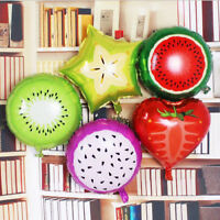 Strawberry Fruits Foil Balloon Baby Shower Summer Birthday Theme Party Decor