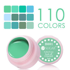5ml Soak Off Nail UV/LED Gel Polish Lake Green Color Coat Varnish Decor UR SUGAR