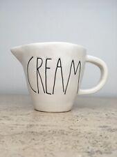 "Rae Dunn ""CREAM"" Creamer Vintage Magenta Exclusive Rare VHTF"