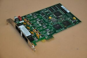 Dialogic Model D4PCIU4SEW PCIe 4-port Vocie Board 44-0053-02