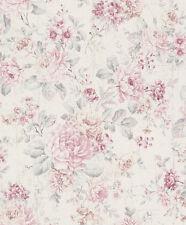 Wallpaper flower cottage style Rasch Pure Vintage rose 516029 (2,75£/1qm)