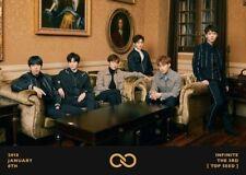 INFINITE TOP SEED 3rd Album CD+Photobook+S.Card+M.Postcard Set+Card K-POP SEALED