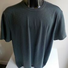 TASSO ELBA  Island SS Pullover T Shirt SZ XXL Gray Poly
