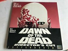 Dawn of the Dead Director's Edition - Vintage Laserdisc Movie - Letterboxed