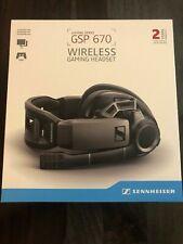 Sennheiser GSP 670 Wireless Professional Gaming Headset Headphones - New