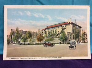 ca.1920 postcard- Fenway Court, Mrs. Jack Gardners Venetian Palace, Boston, Mass