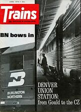 Trains Magazine June 1970 Denver Union Station: from Gould to the CZ