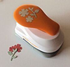 Fiskars FLOWERS AND LEAVES Large Lever Paper Punch Scrapbooking NEW