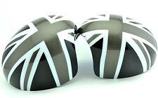UNION JACK MINI Cooper R57 R56 R55 R60 R58 R59 2007+ Manual fold Mirror Caps