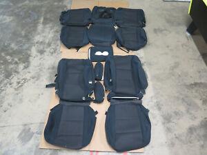 2015-2016 Nissan Armada SV OEM cloth seat cover set