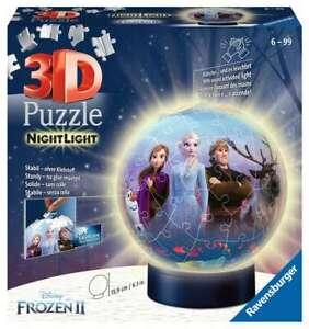 Ravensburger 111411 Disney - Frozen II - Nachtlicht 3D Puzzle 6-10Jahre