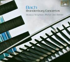 BACH: BRANDENBURG CONCERTOS 2 CD NEW+ BACH,JOHANN SEBASTIAN