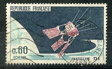 STAMP / TIMBRE FRANCE OBLITERE  N° 1476 LANCEMENT DU SATELLITE D1