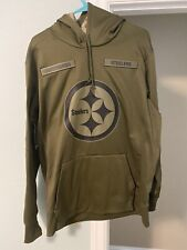 Pittsburgh Steelers Salute To Service Size Large Hoodie Sweatshirt Nike NWT NFL