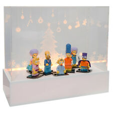 Lego display box such as case with LED Light (Fairy light case)