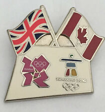 London 2012 Olympic Vancouver 2010 Bridge Pin Badge