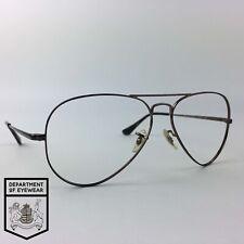 RAY-BAN eyeglasses BROWN ROUND AVIATOR glasses frame MOD: RB6489 2531