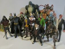 Batman Arkham Figure Lot - w/ Joker + Bane + Harley Quinn + Penguin & MORE!!