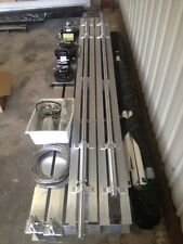 boat lift--(NEW-with warranty) 10,000 Lbs aluminum