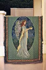 Irish Angel Tapestry Afghan Throw