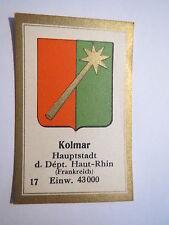 Kolmar / Sammelbild Abdulla Wappen