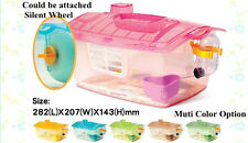 Jolly Hamster Gerbil Mouse House Cage Playhouse Package 1 level with Food Trough