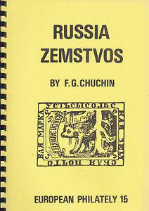 Russia Zemstvos, by F.G. Chuchin, NEW